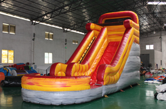 16' Mount Lava wet slide